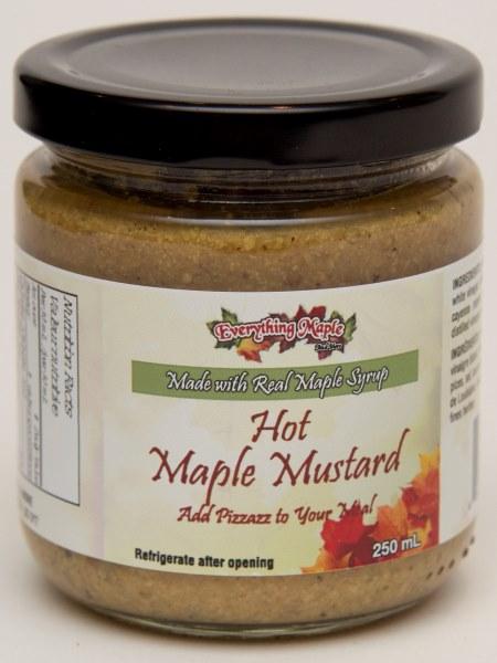 Hot Maple Mustard