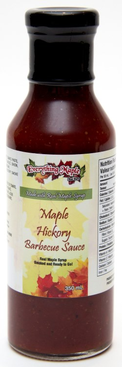 Maple Hickory BBQ Sauce