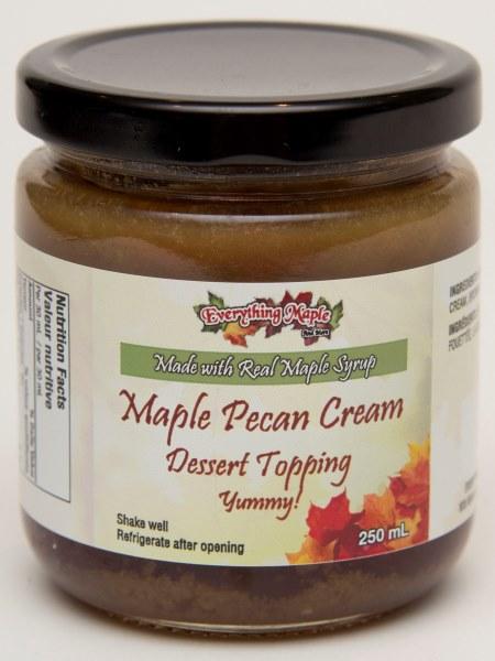 Maple Pecan Cream Dessert Topping