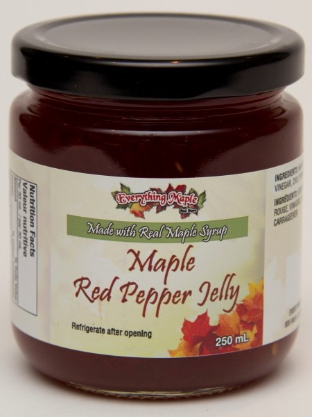 Maple Red Pepper Jelly