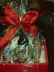 Maple Syrup Product Gift Baskets