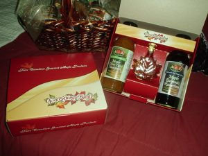 Maple Syrup Products Corporate Gift Basket